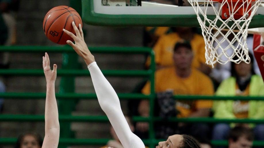 Oklahoma Baylor Griner Blocks Record Basketball