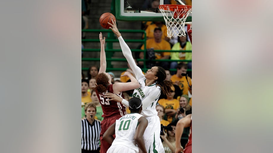 Oklahoma Baylor Griner Blocks Record Basketball