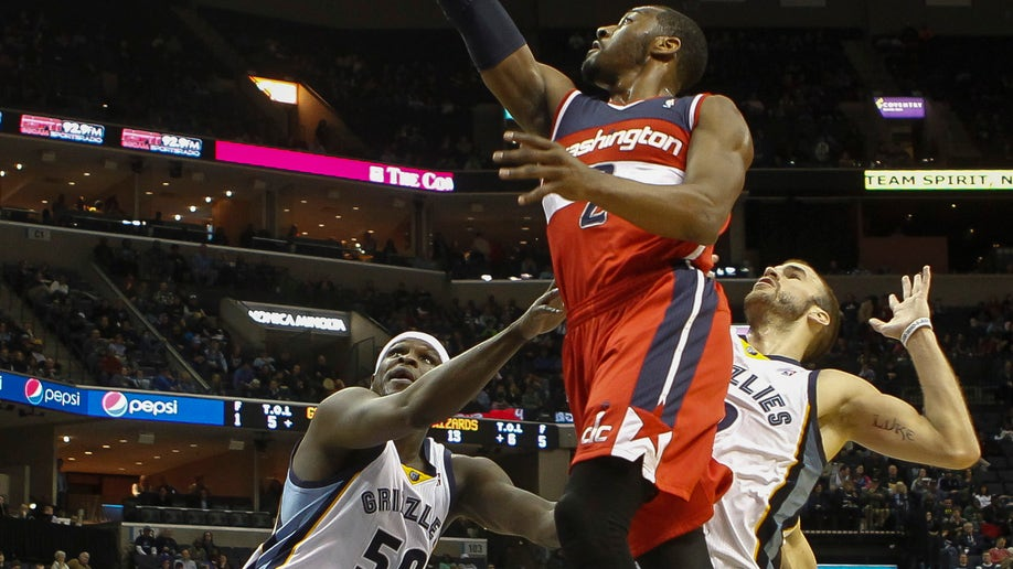 Wizards Grizzlies Basketball