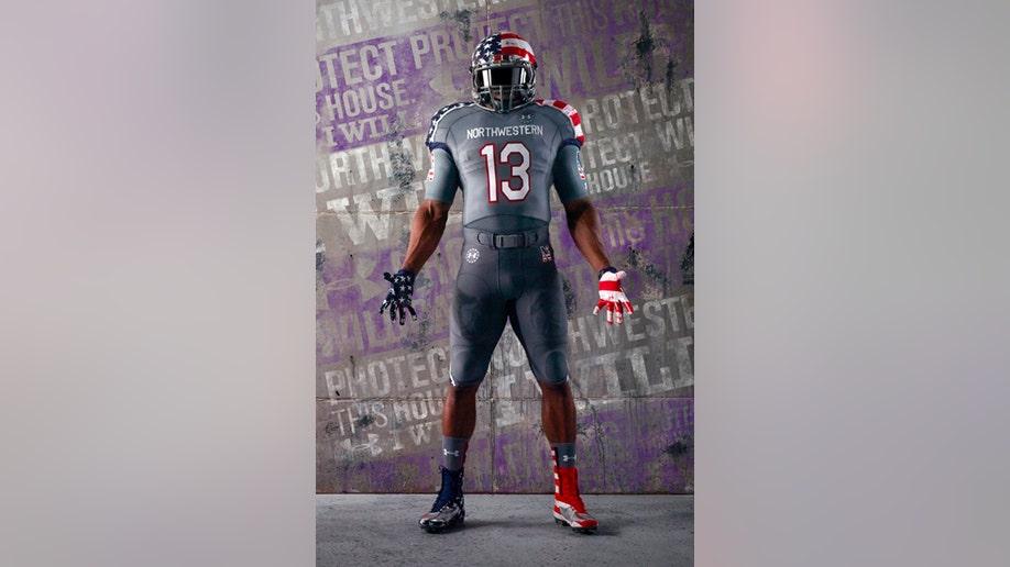 Military Uniforms Football