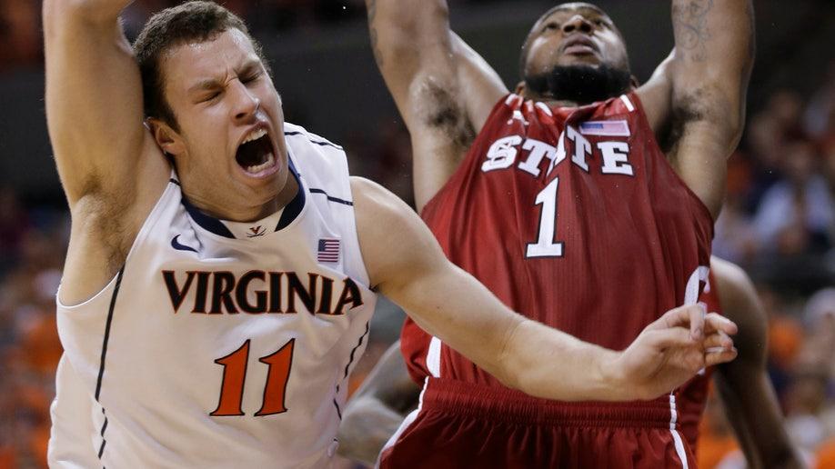 NC State Virginia Basketball