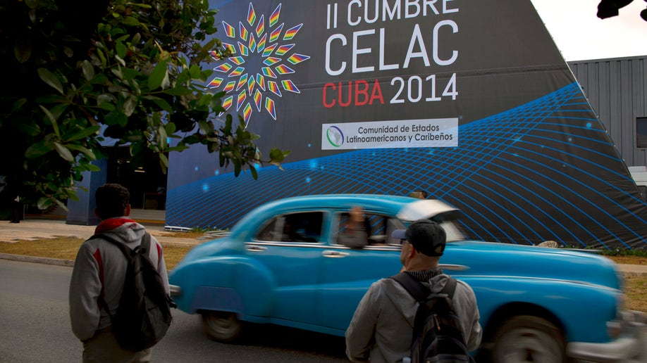 APTOPIX Cuba CELAC Summit