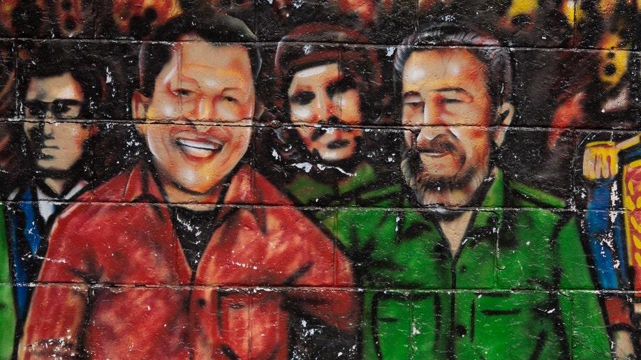 Venezuela Cuba Chavez