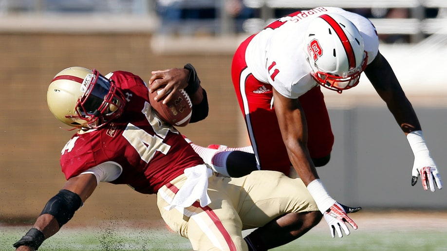 NC State Boston College Football