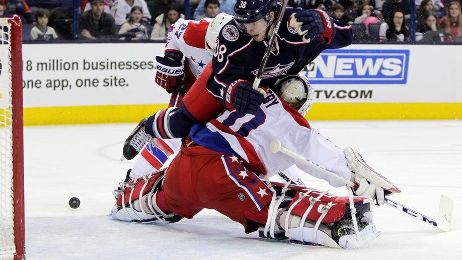 Capitals Blue Jackets Hockey
