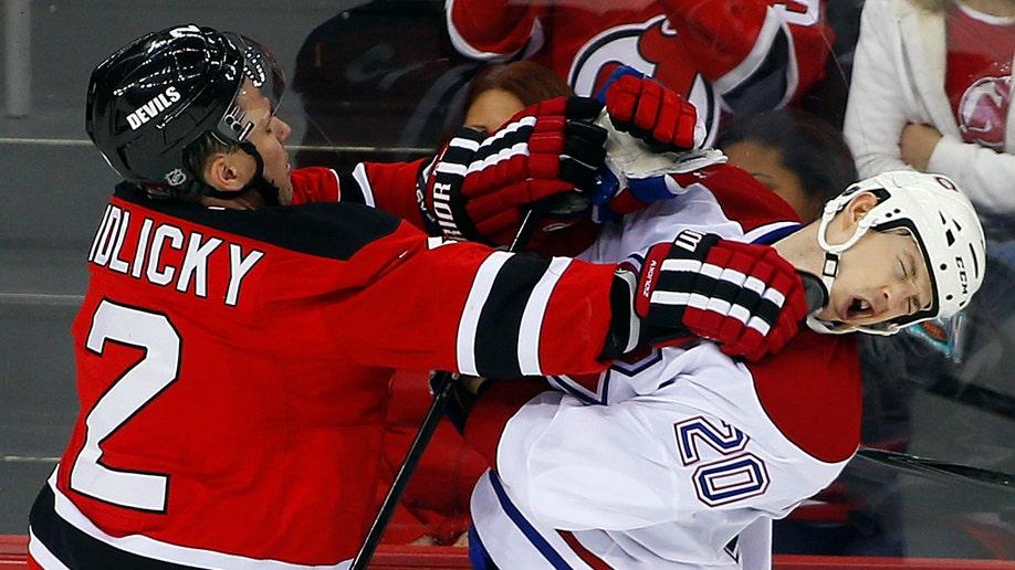 Canadiens Devils Hockey