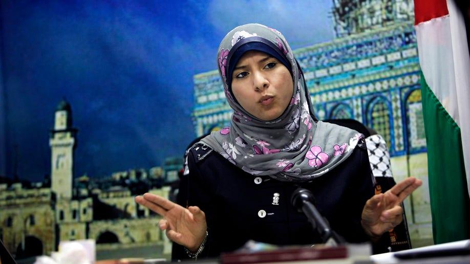 Mideast Gaza Hamas Spokeswoman