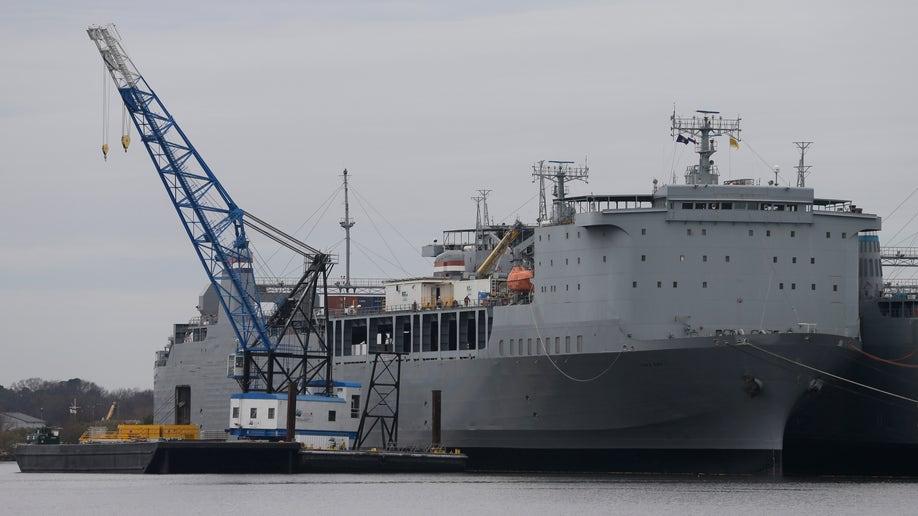 Spain Chemical Weapons Destruction Ship