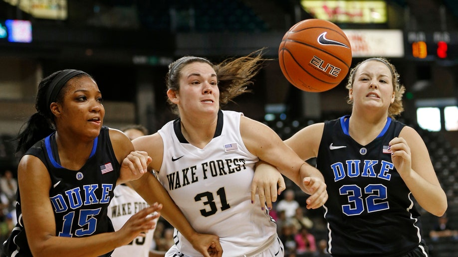 Duke Wake Forest Basketball