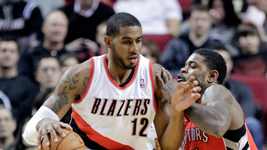 Raptors Trail Blazers Basketball
