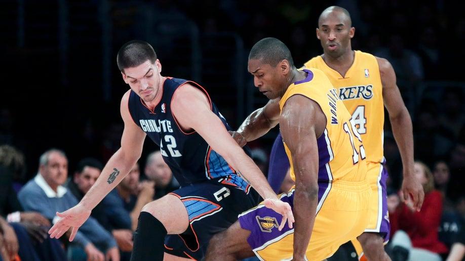 7a4c3958-Bobcats Lakers Basketball