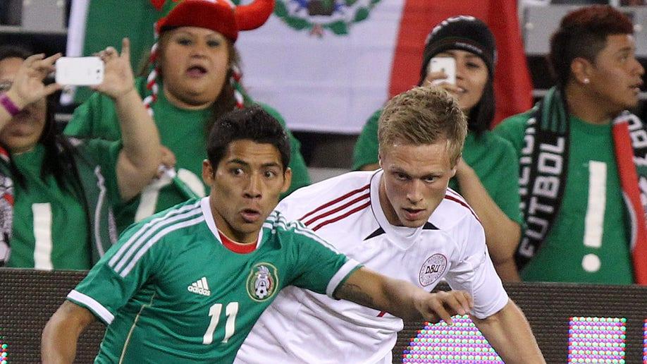 Denmark Mexico Soccer