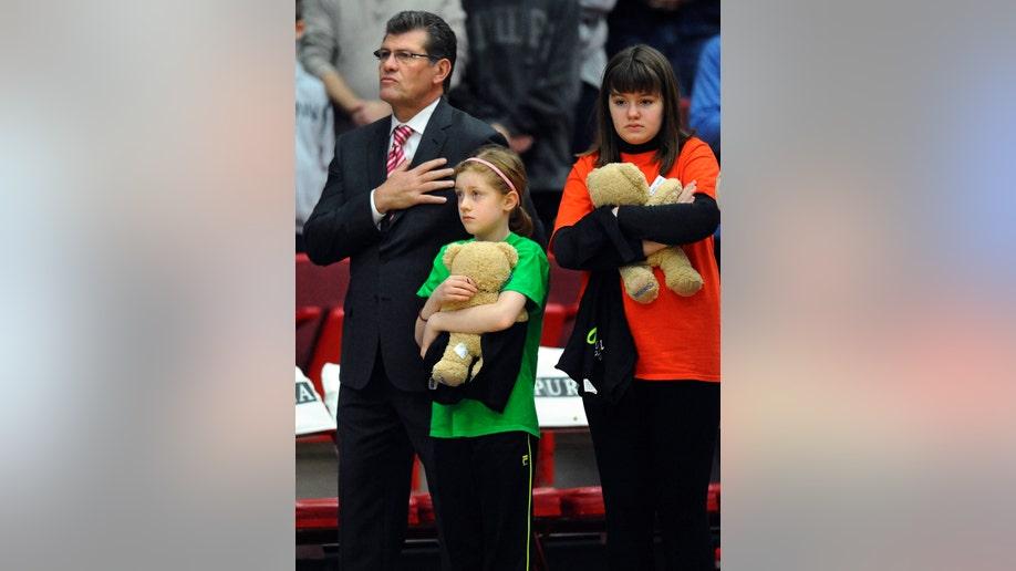 Connecticut School Shootings UConn Basketball