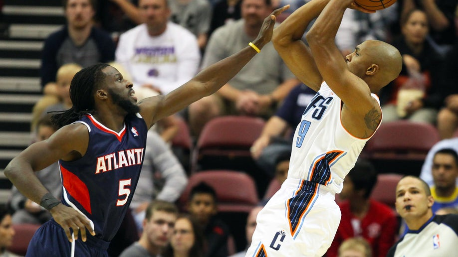Hawks Bobcats Basketball