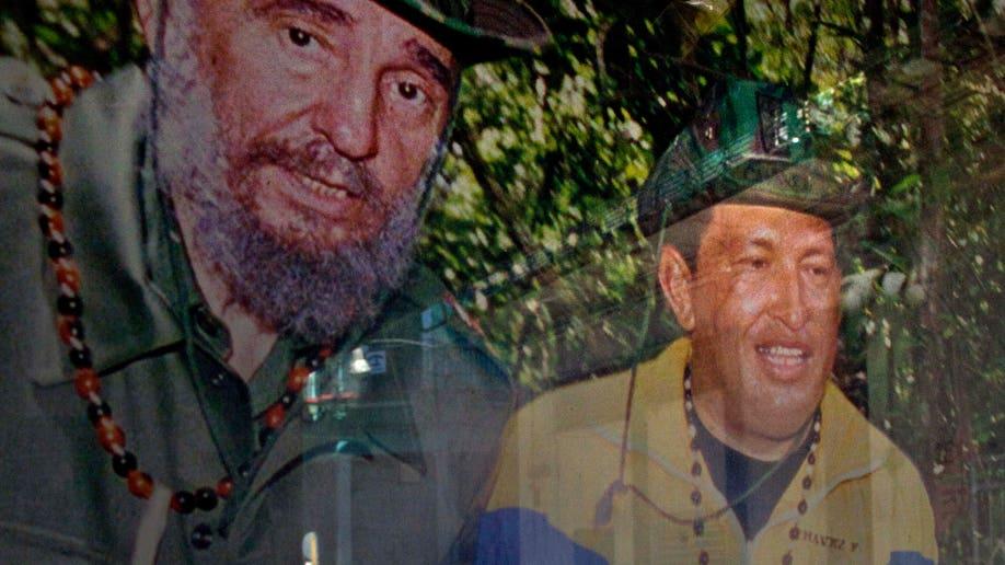 APTOPIX Cuba Chavez
