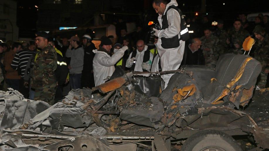 Mideast Lebanon Explosion