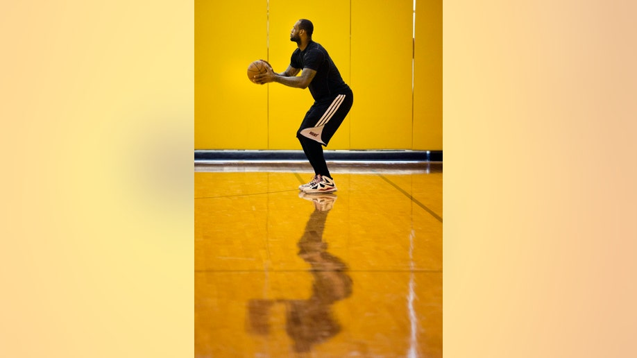 APTOPIX Heat James Basketball