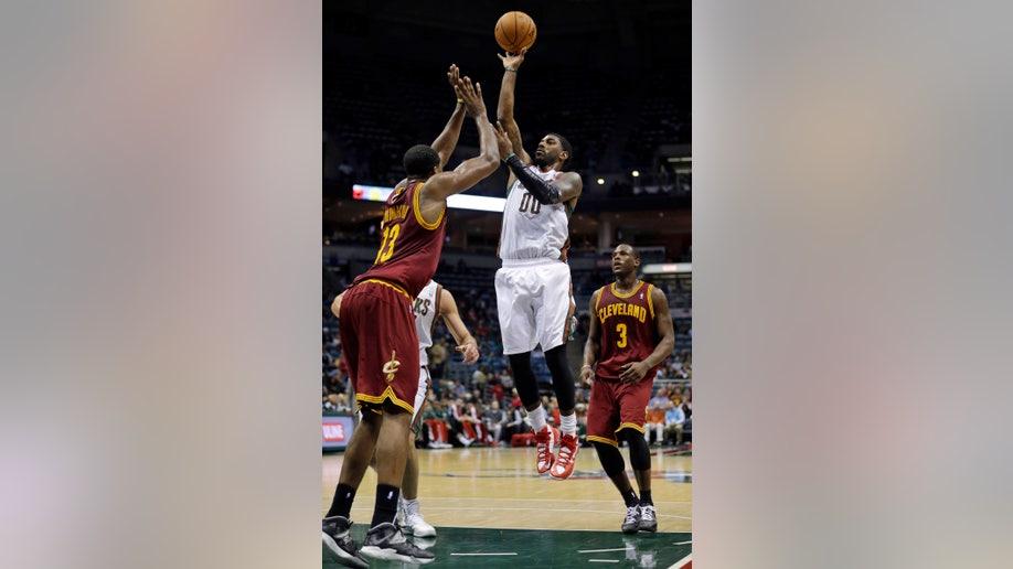 Cavaliers Bucks Basketball