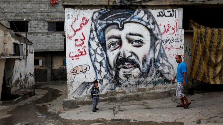 Mideast Israel Palestinians Arafat