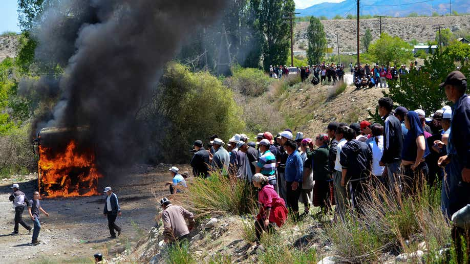 Kyrgyzstan Gold Mine Protest