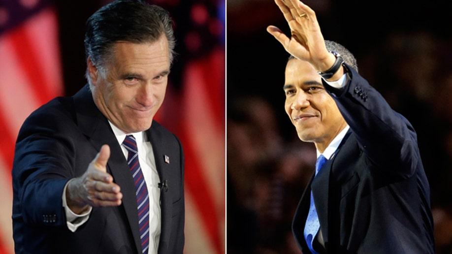Obama Romney 2012