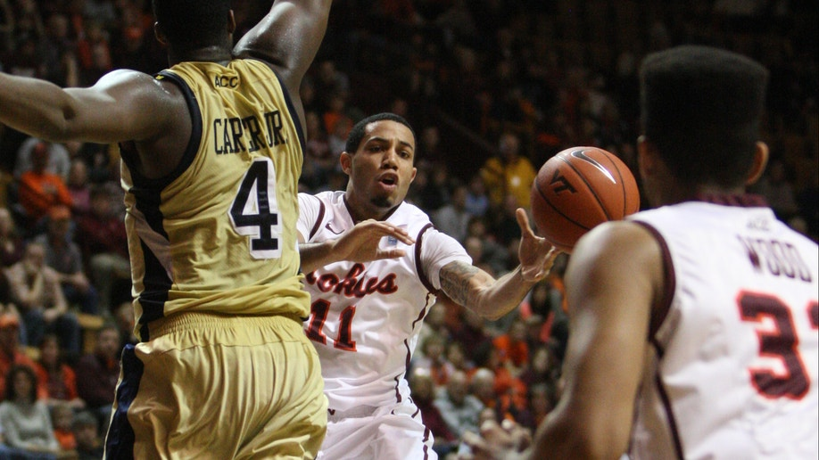 Georgia Tech Virginia Tech Basketball