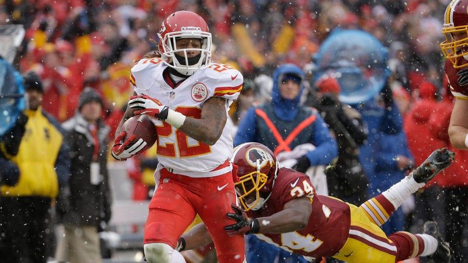 APTOPIX Chiefs Redskins Football