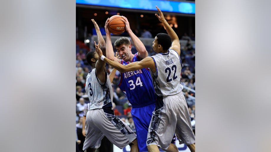 American Georgetown Basketball