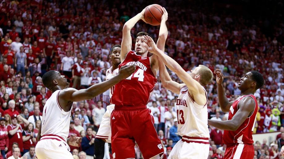 Wisconsin Indiana Basketball
