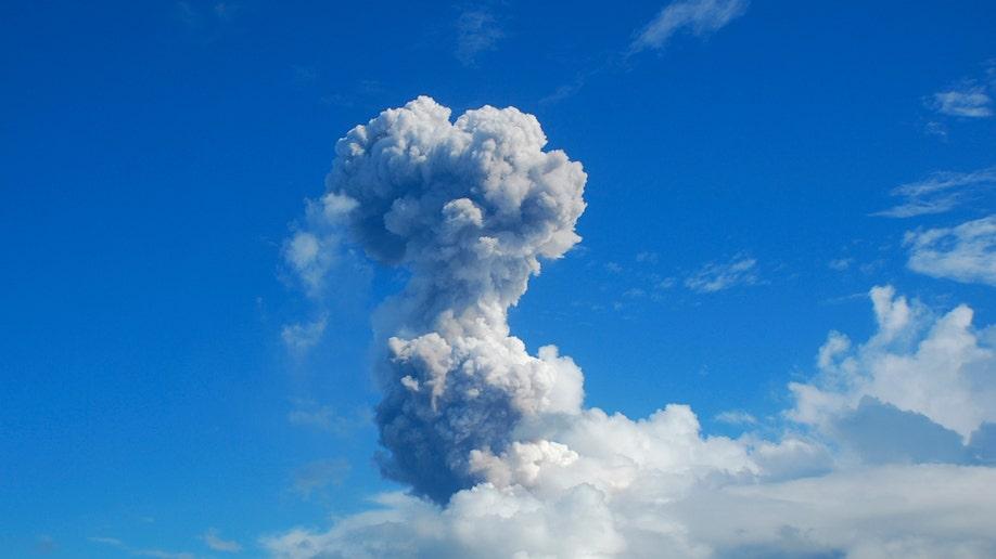 APTOPIX Philippines Volcano