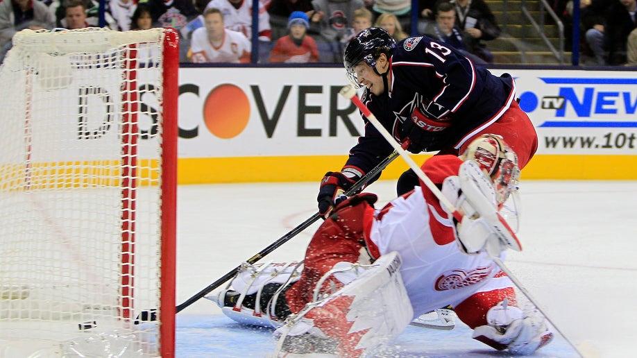 e0293220-Red Wings Blue Jackets Hockey