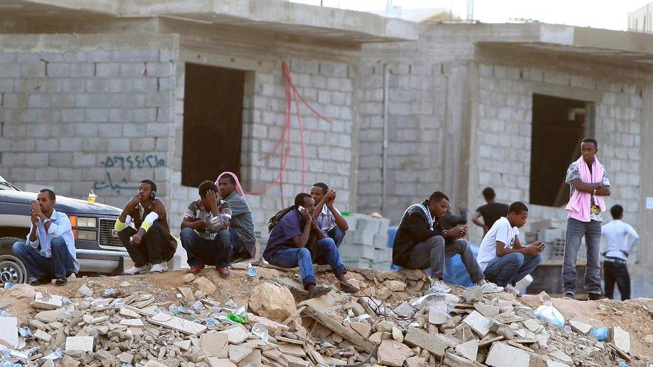 Mideast Saudi Migrant Crackdown