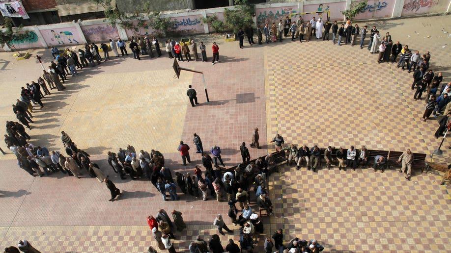 Mideast Egypt Dismal Turnout