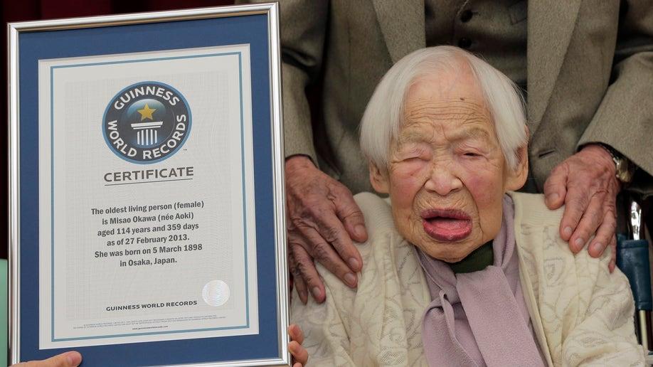 48508931-Japan Worlds Oldest Woman