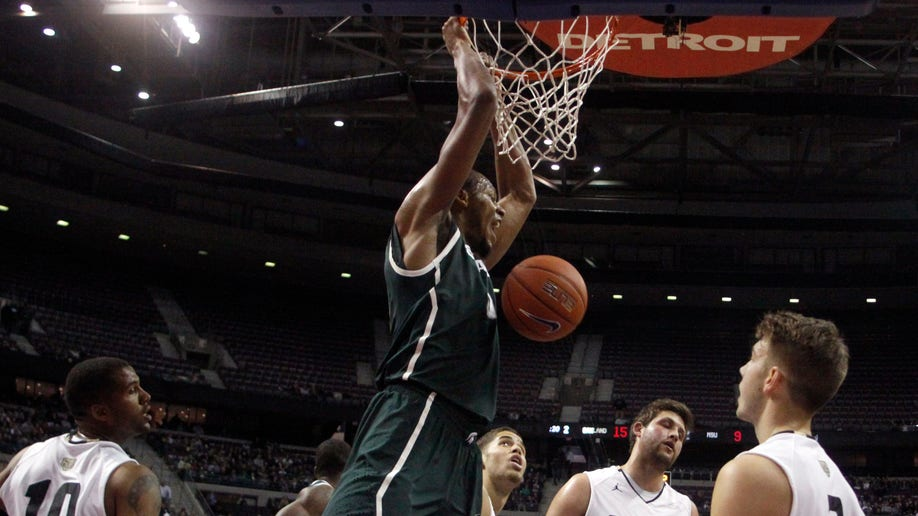 Michigan St Oakland Basketball