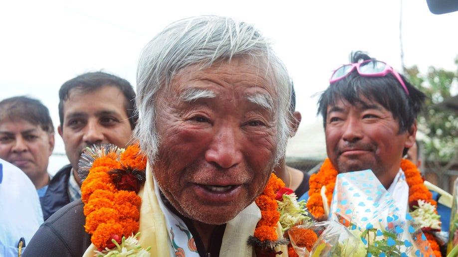 Nepal Everest Octogenarian