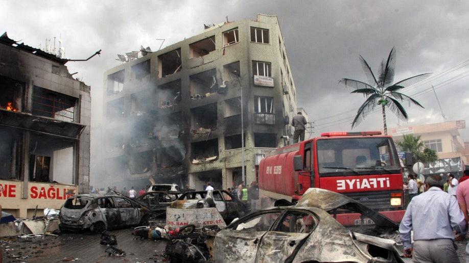 Turkey Explosion