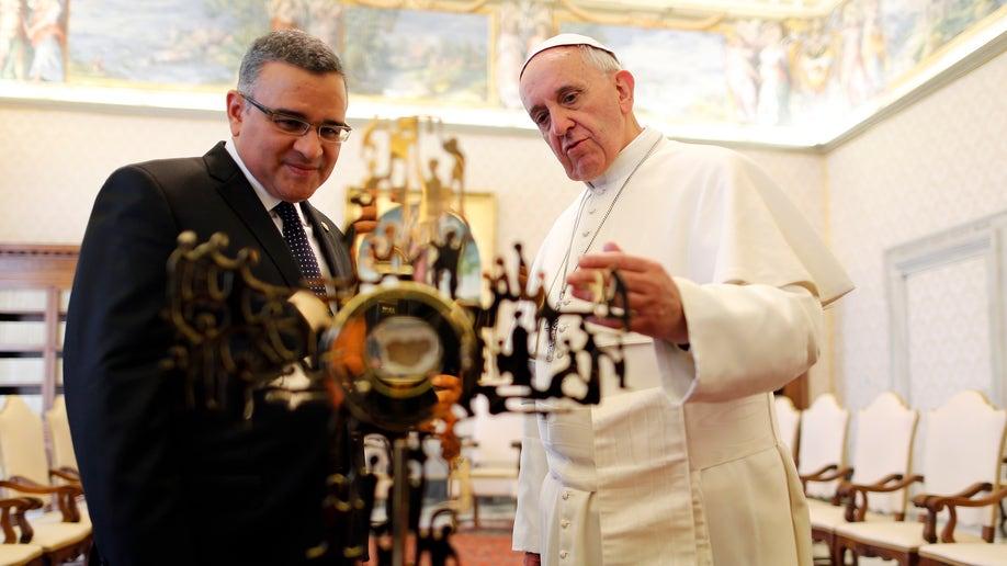 Vatican Pope Salvador