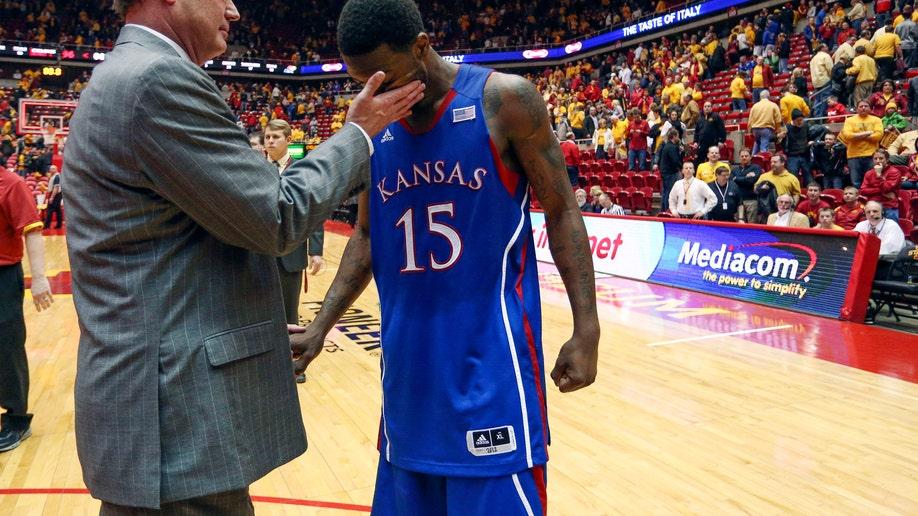 APTOPIX Kansas Iowa St Basketball