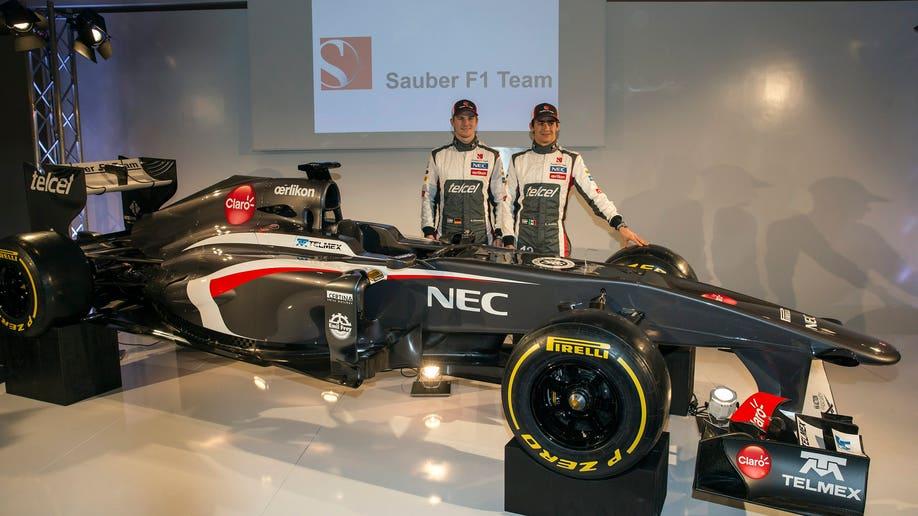 043fd7d1-Switzerland Formula One  Sauber Ferrari