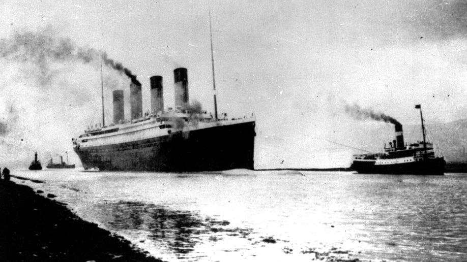 18424739-Titanic Map