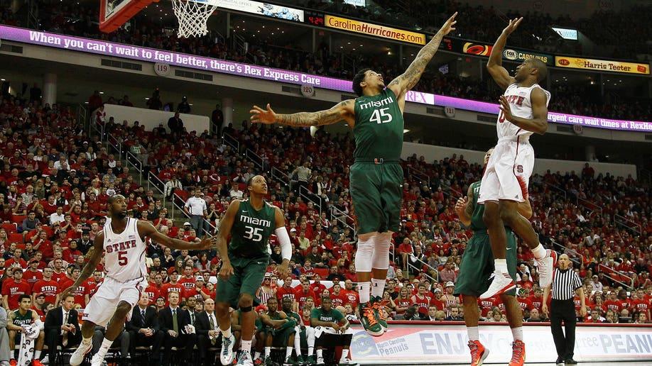 Miami NC State Basketball