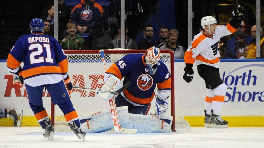Flyers Islanders Hockey