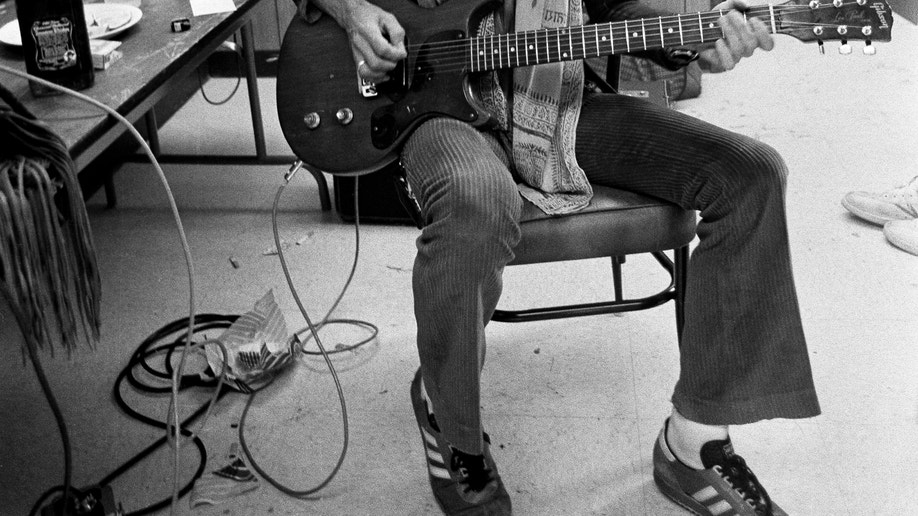 Backstage-Bo Diddley