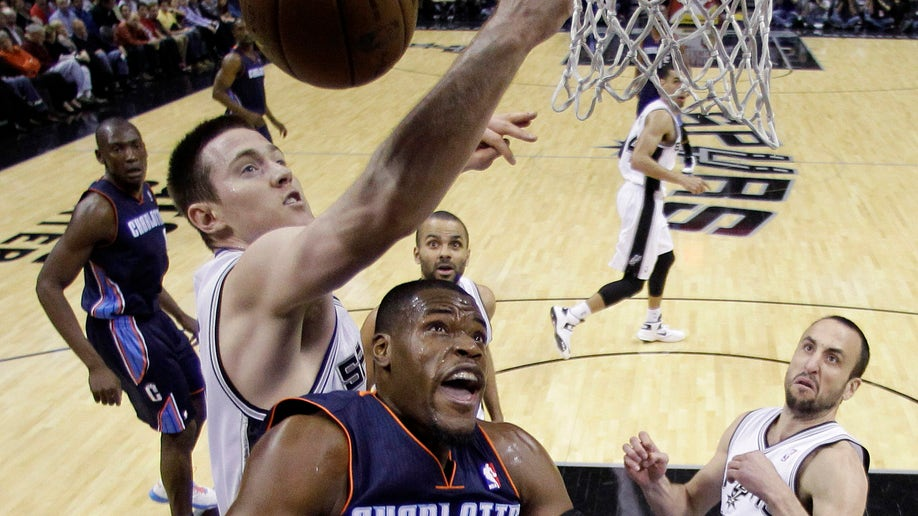 e61d2a25-Bobcats Spurs Basketball