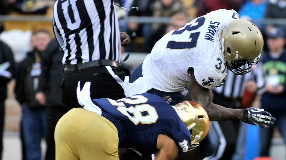 5858d250-Navy Notre Dame Football