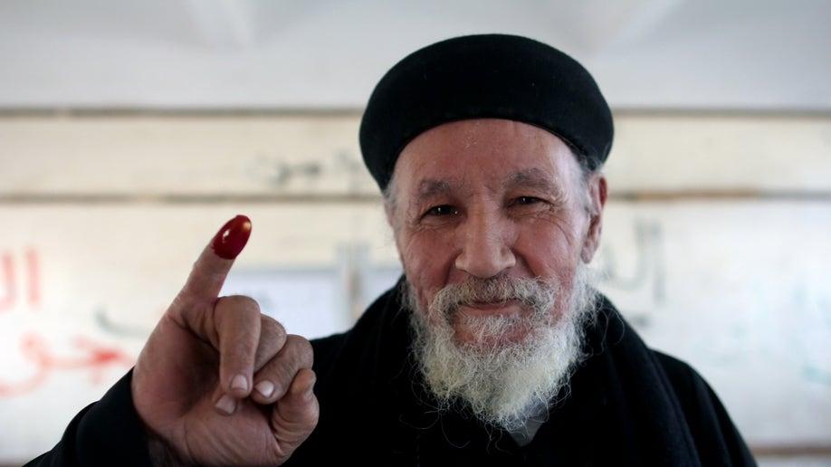 Mideast Egypt Happy Christians