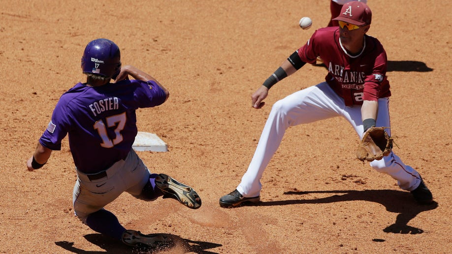 SEC LSU Arkansas Baseball