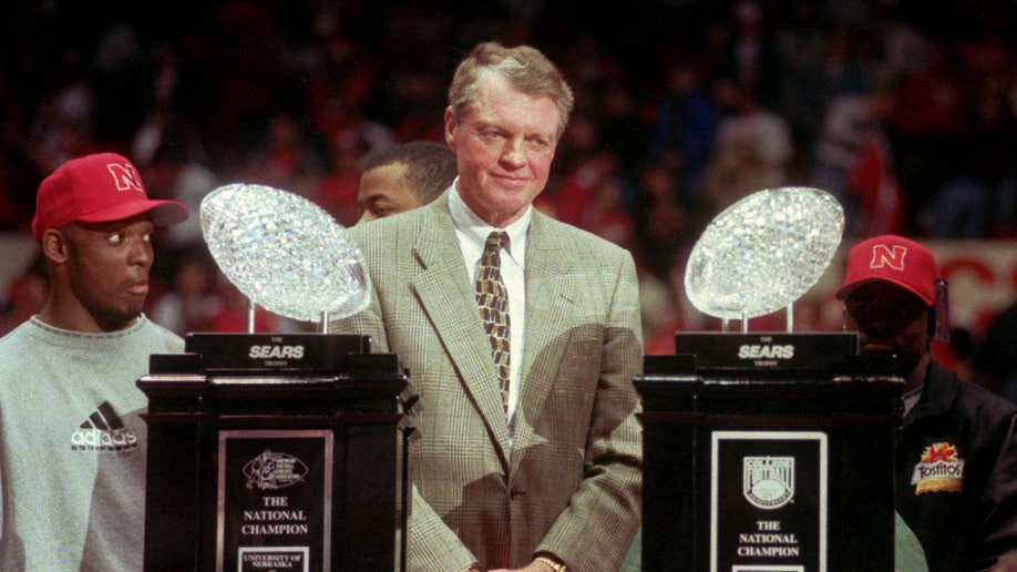 90s Nebraska vs Alabama Football