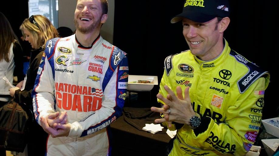 499fdbeb-NASCAR Daytona Media Day Auto Racing